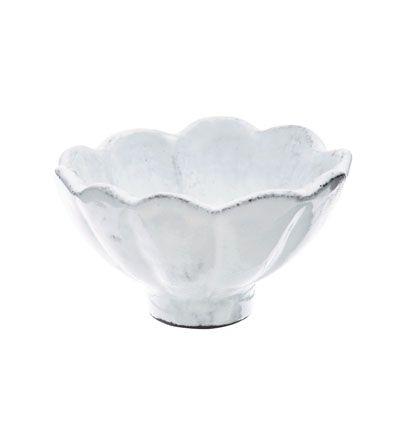 #irresistiblyitalian for the sauces VIETRI - Incanto White Scallop Condiment Bowl