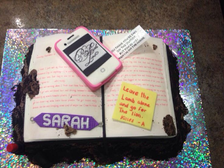Pretty Little Liars Cake Cakes Pinterest My Name