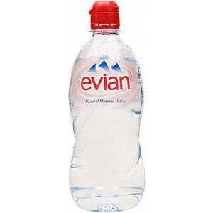Evian Natural Spring Water (12x750ml)