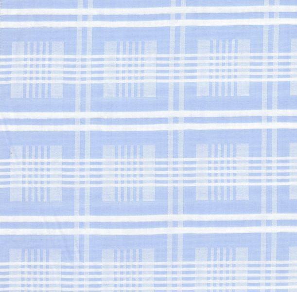 Distinctive Sewing Supplies - Jacquard Plaid Shirting - Lt. Blue