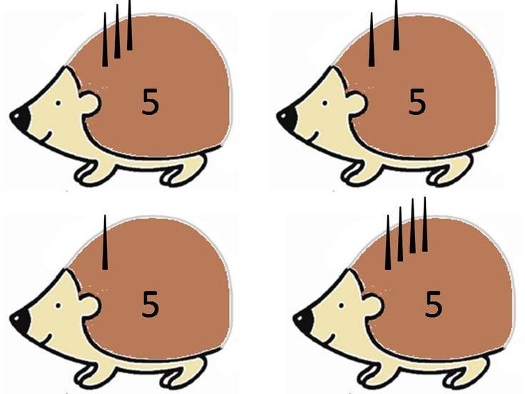 jeu du hérisson complément à 5