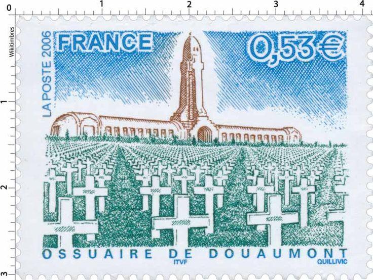 Timbre : 2006 OSSUAIRE DE DOUAUMONT | WikiTimbres