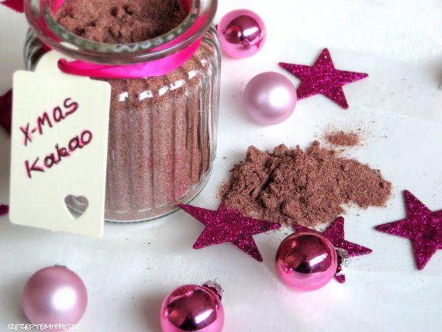 Rezepte mit Herz: Weihnachtskakao Trinkpulver Weihnachts - Kakao ♡ Trinkpulver