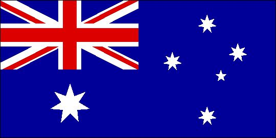 Flag of Australia, member of the Commonwealth and former British colony. Now is home to one of the best economies in the world.