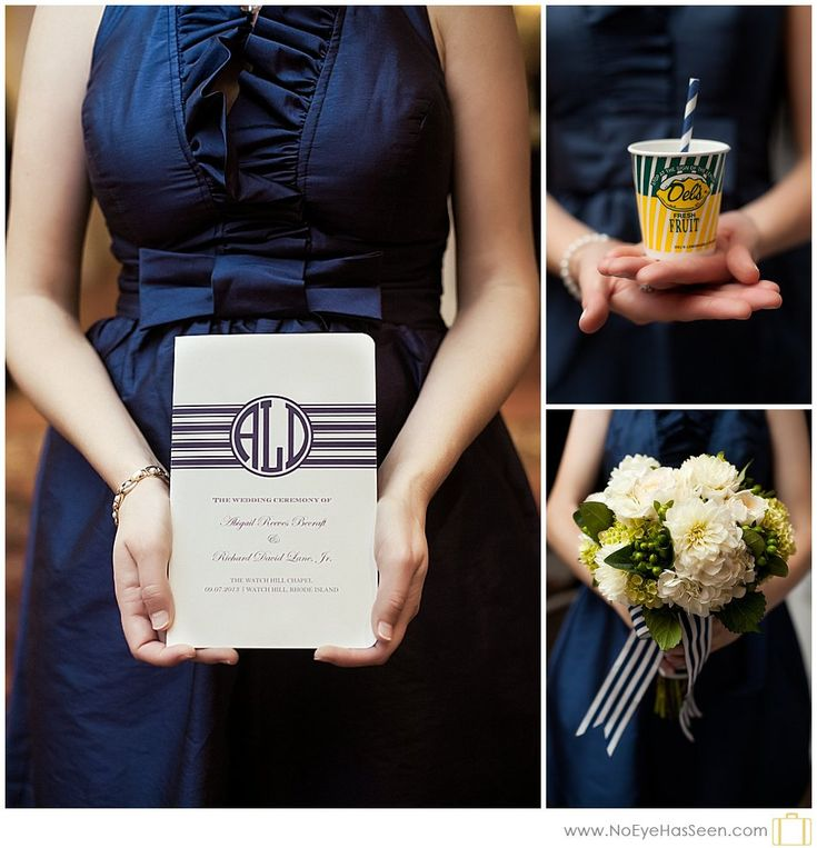 Bridesmate holding things