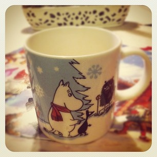 Moomin winter mug