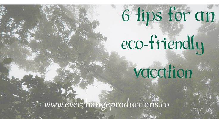 Check out these 6 tips for a eco-friendly vacation. It is essential to protect nature so future generations. It takes all of us doing our part.