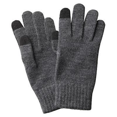 Touchscreen Handschuhe der Firma Muji. Braucht man netto nur zwei Stunden im Jahr, dann aber sehr.