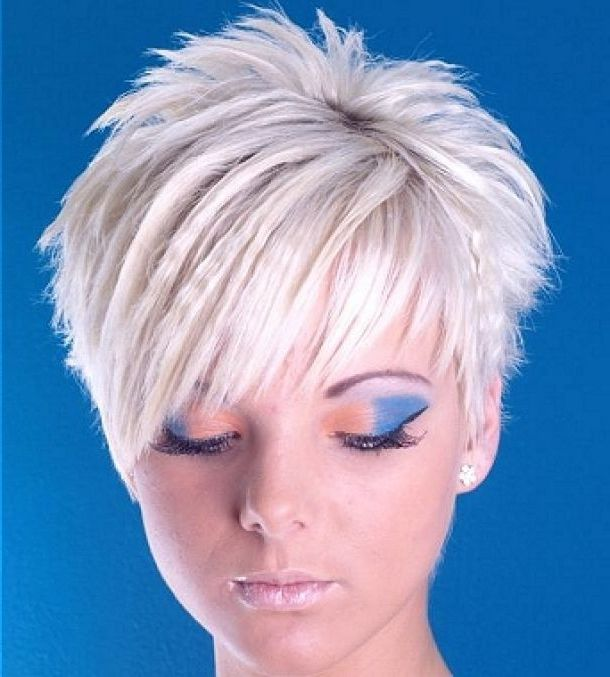 Funky short hairstyles with colour - Google Search