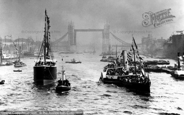 London, Opening Of Tower Bridge 1894, from Francis Frith