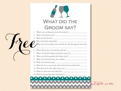 free-what-did-the-groom-say-BS102 teal-bridal-shower-games-wine