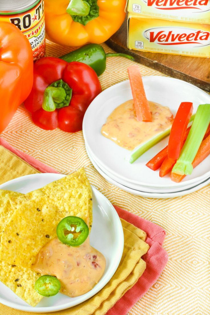 Recipe: RO*TEL and VELVEETA Famous Queso Dip — Recipes from The Kitchn