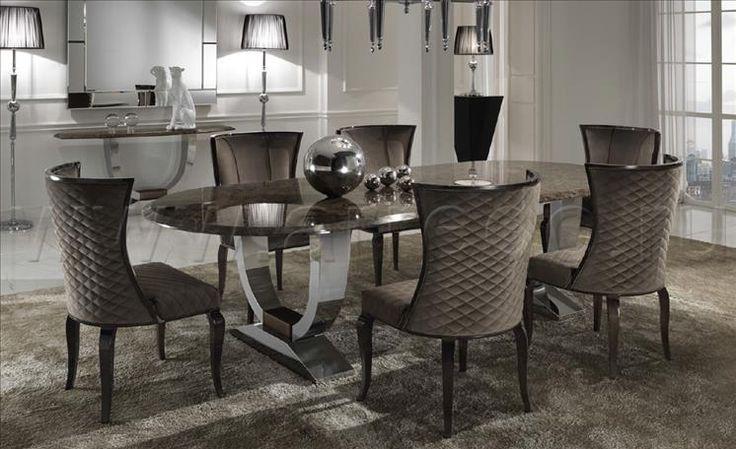 Композиция столовые комнаты DAY 6, производитель DV HOME COLLECTION – элитная мебель из Италии в салоне «ARREDO»