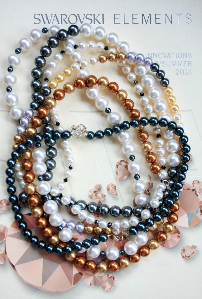 zelodesign swarovski pearls www.zelodesign.ro
