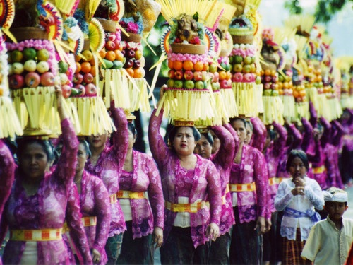 One of Bali's tradition.