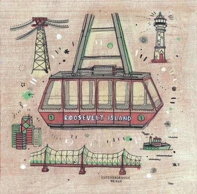 Roosevelt Tramway by James Gulliver Hancock