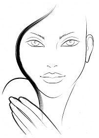 Wundervoller Blog: Face Charts (: