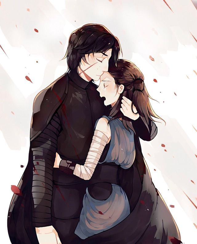 I like Star wars, but I'm  not in the fandom. So I can watch the  Reylo ship play out with impartiality. But I wouldn't get too attached if I were in the fandom. Tragic couples are a good way to advance the plot, - a device that Star Wars writers love to use. These two are not riding off into the sunset at the end of Episode IX.