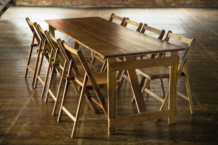 Rustic Hire | Great Oak Trestle Table | Wooden Table and Chair Hire | Weddings | Rustichire.co.uk