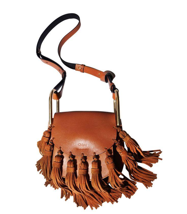 Chloe Mini Hudson Suede Tassel Bag