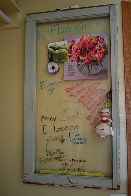 Window pane/ message boards: Old Window Frames, Cupcake, Couch, Old Windows, Frames Windows Doors, Craft Ideas, Messages