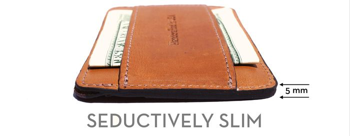 THE 2.0 - CASH AND CARD SLIM WALLET by Benjamin Roedel — Kickstarter
