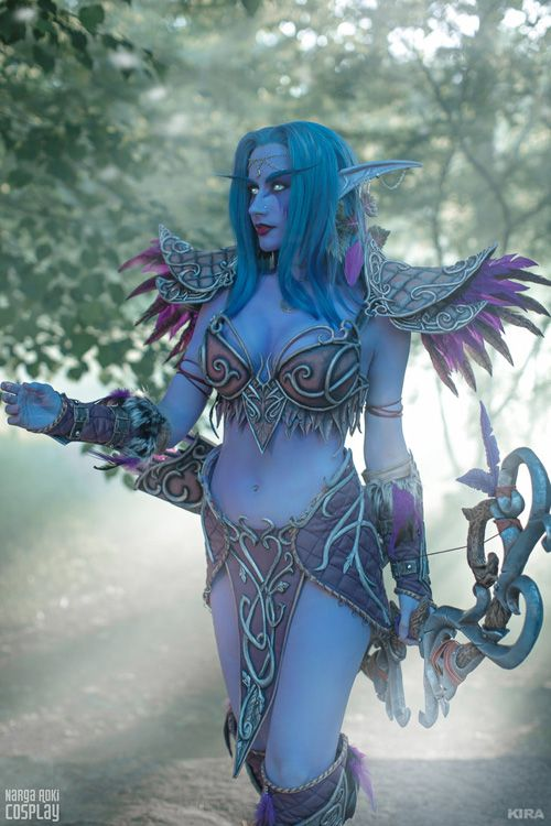 Tyrande Whisperwind from World of Warcraft Cosplay http://geekxgirls.com/article.php?ID=9565