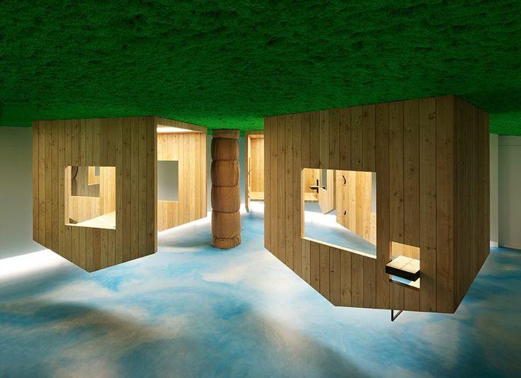 "Friseursalon ""Himmelblau"", Monguelfo-Tesido, 2010 - Stefan Hitthaler Architekturbüro"