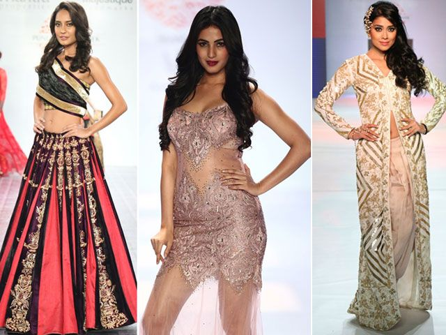 Ramp Scorchers: Lisa Haydon, Sonal Chauhan, Shriya Saran http://movies.ndtv.com/photos/ramp-scorchers-lisa-haydon-sonal-chauhan-shriya-saran-17943