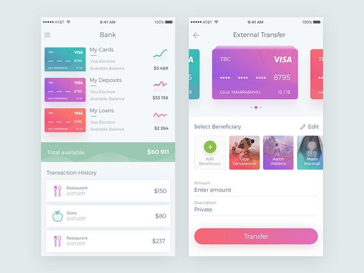 Banking App by Giga Tamarashvili