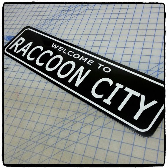 Resident Evil: Welcome to Raccoon City Aluminum Sign by 734designs
