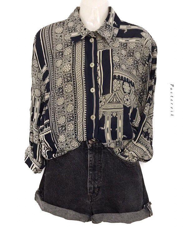 Mein True Vintage Oversize Bohemian Style Bluse Hippie Festival Hemd  von true vintage. Größe Uni für 32,00 €. Schau es dir an: http://www.kleiderkreisel.de/damenmode/blusen/153149033-true-vintage-oversize-bohemian-style-bluse-hippie-festival-hemd.