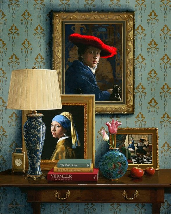 Vermeer Master of Light by Jenness Cortez