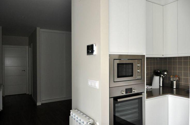 Casa prefabricada Cube  75 m2 - Cocina y pasillo (de Casas Cube)