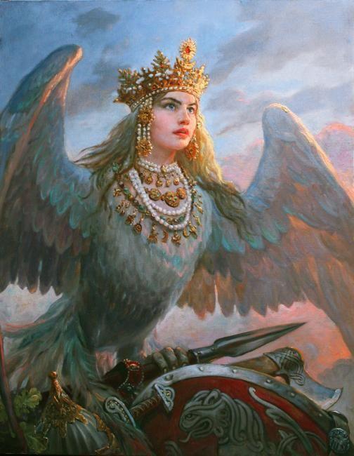 Шишкин Андрей. Птица Сва- Слава