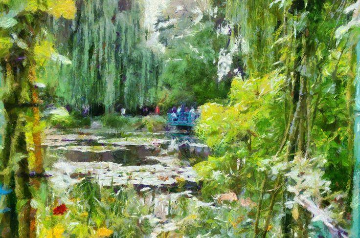 Claude Monet preset in Dynamic Auto Painter