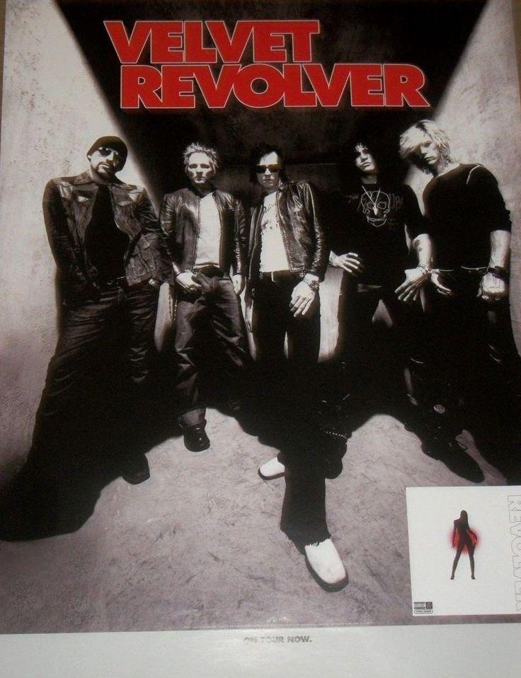 "Velvet Revolver - Contraband - 2004 RCA Promo Poster - 18"" X 24"" #VelvetRevolver #Slash #ScottWeiland"