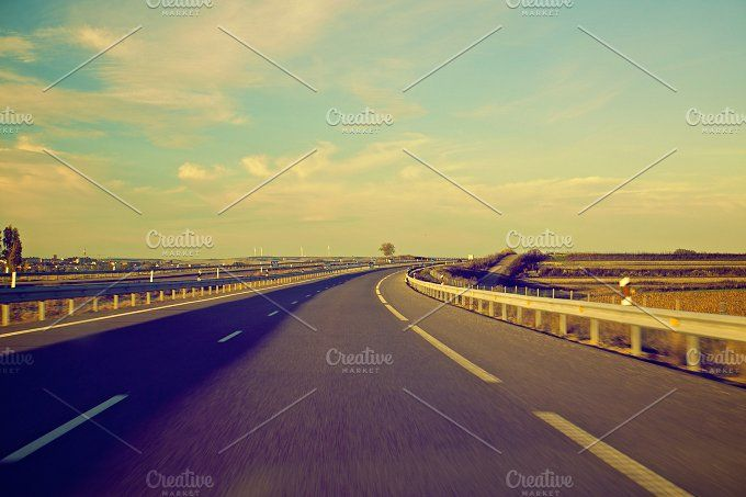 long road by ApertureVintage on @creativemarket