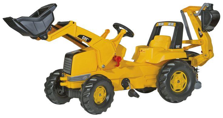 CAT markolós traktor