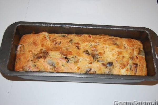 • Plumcake melanzane e stracchino - Ricetta Plumcake melanzane e stracchino