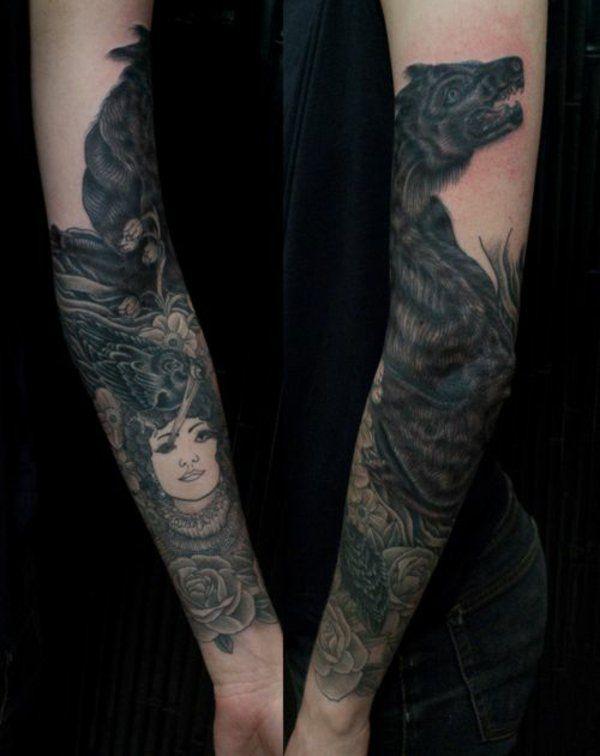 ▷ 1001+Unterarm Tattoo Ideen - Bilder und Video!