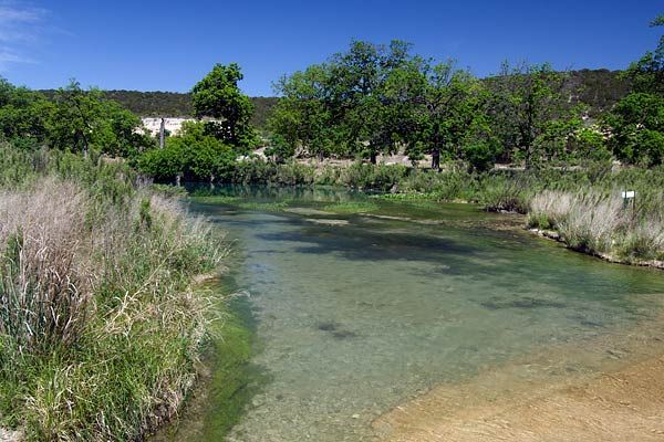 Located on the river that's been called one of the most pristine bodies of water in the state, this park is known for water and wildlife. South Llano River State Park. Tubing.