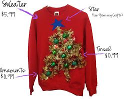 my thrifty chic: DIY Ugly Christmas Sweaters For the kids ugly sweater day @Cindy Salisbury!