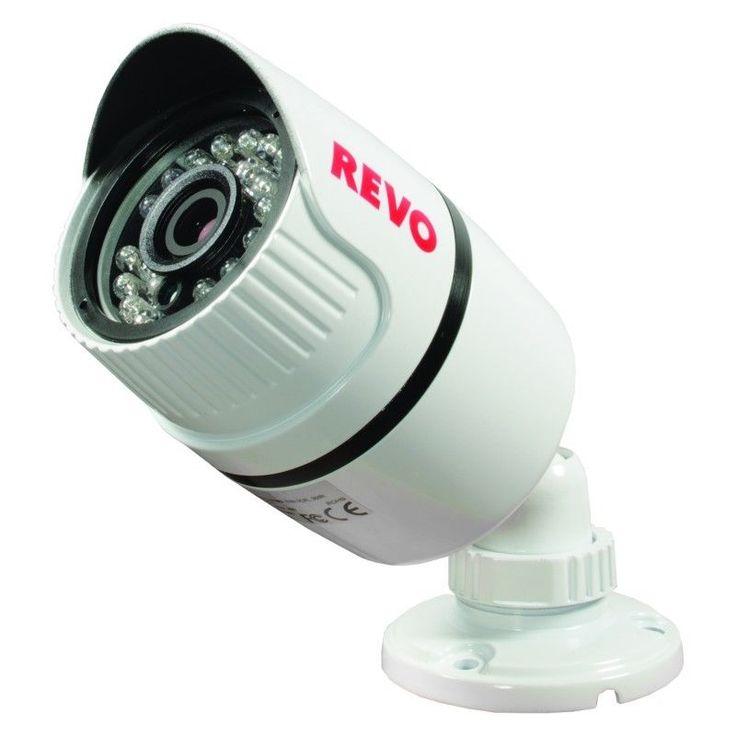 REVO T-HD Bullet Surveillance Camera 2.1MP ICR IP66 (60' BNC Cable Included) #RevoAmerica