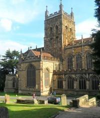 Great Malvern Priory by Jenny Ross