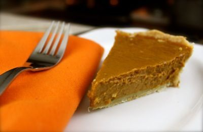 A yummy and healthy version of pumpkin pie!