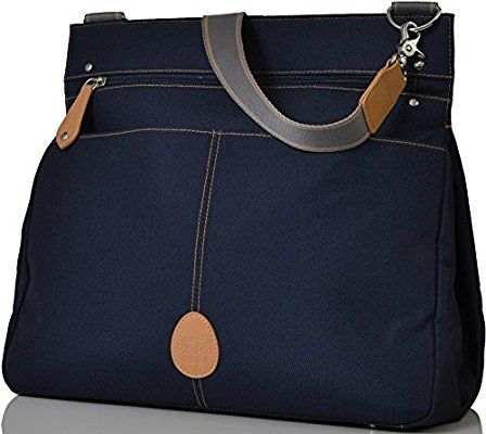PacaPod Oban Navy Designer Baby Changing Bag - Luxury Navy Messenger 3 in 1 Organising System With Convertible BackPack Straps: Amazon.co.uk: Baby