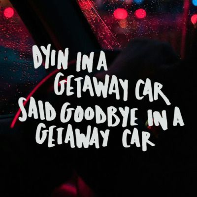Get Away Car by Taylor Swift