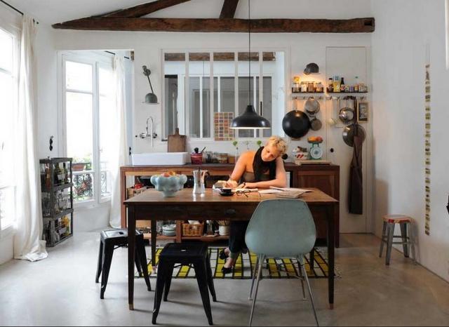 Paris tiny kitchen