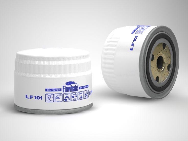 oil filter - 3DsMax + VRay
